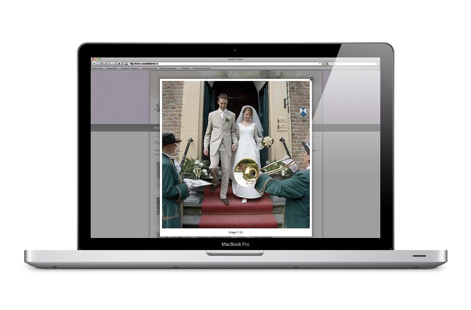 website Els van Ginkel screenshot 2